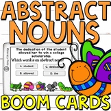 Abstract Nouns Boom Cards (24 digital task cards)