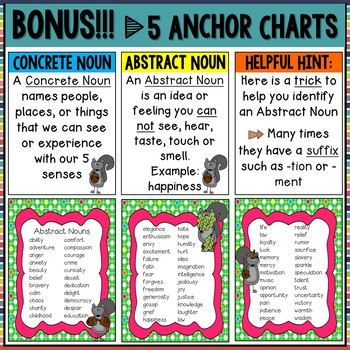 Abstract Nouns Boom Cards