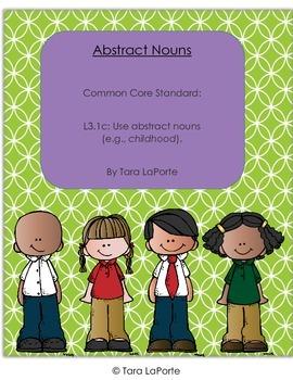 Abstract Nouns L3.1c