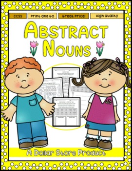Abstract Nouns Practice Pack