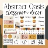 Abstract Oasis Classroom Decor Bundle