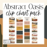 Abstract Oasis Clip Chart Pack {Editable}