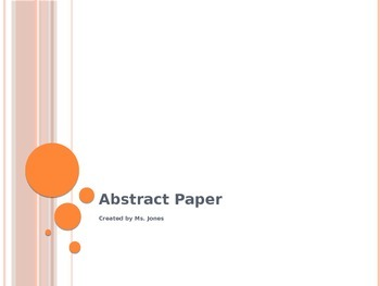 Abstract Paper PowerPoint