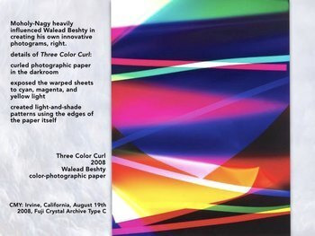 Abstract Photography Art SHOW + TEST = 249 Slides - 20th & 21st C Artists