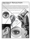 Abstract Reflection- Drawing facial features exercise