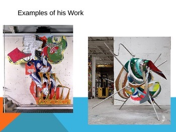 Abstract Sculptures inspired by Frank Stella
