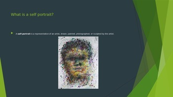 Abstract Self Portrait Powerpoint