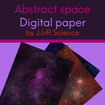 Abstract Space - Digital Paper