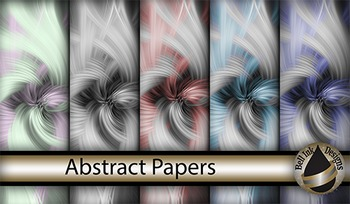 Abstract Swirl Papers