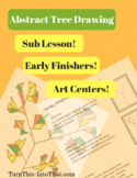 Abstract Tree Drawing - 2 Different Trees - Step by Step - Art Sub Lesson