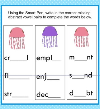 Abstract Vowel Review and Practice