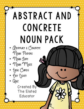 Abstract and Concrete Noun Pack