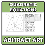 Abstract art - Quadratic equations - Ecuaciones de segundo grado