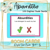 Absurdities BOOM Cards – Speech Therapy Distance Learning