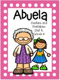 Abuela, Kindergarten, Centers and Printables