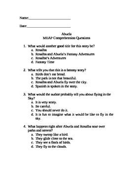 Abuela MEAP/FCAT... Practice
