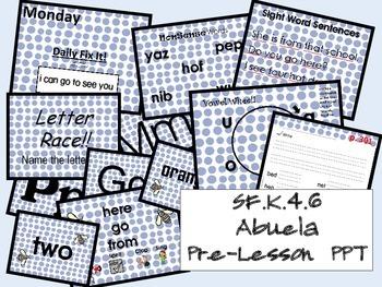 Abuela SF.K.4.6 Pre-Lesson PPT