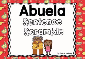 Abuela Sentence Scramble