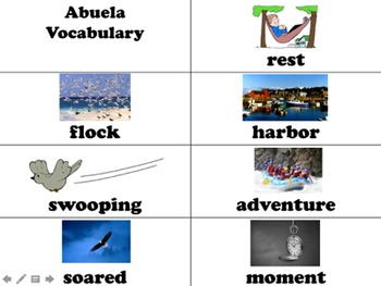 Abuela Vocabulary Visuals (for ELLs)