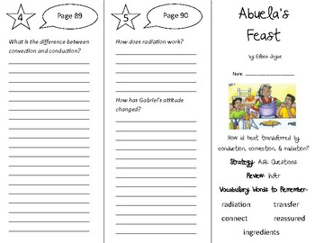 Abuela's Feast Trifold - 5th Grade Literacy by Design Theme 3