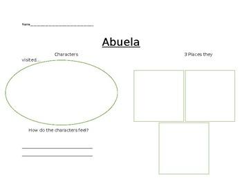 Abuela worksheet