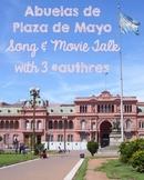 Abuelas de Plaza de Mayo with Song, Movie Talk & 3 #Authres!