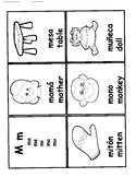 Abuelita's Spanish Alphabet writing and vocabulary book
