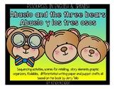 Abuelo and the 3 bears bundle! (Spanish & English)