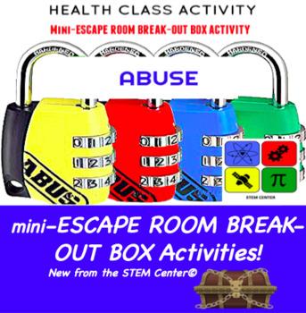 Abuse Escape Room - Break Out Box