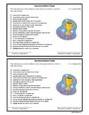 Academic Accommodation Sheet