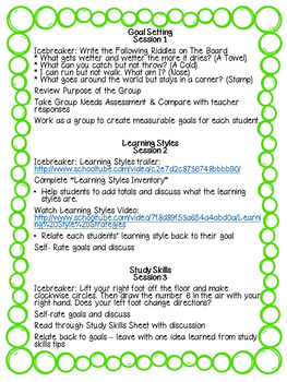 Academic Achievement Study Skill Group