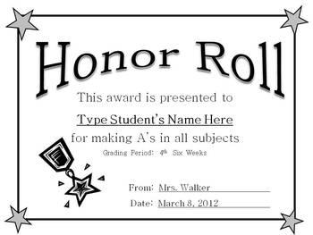 Academic Awards Amanda Walker