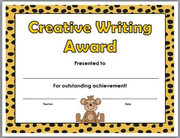Jungle Theme Classroom Academic Awards - End of the Year Awards