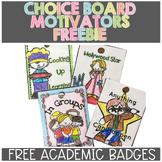 Academic Badges FREE SAMPLE