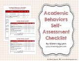 Academic Behaviors Self-Assessment Checklist