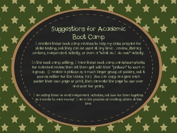 Academic Boot Camp: Reading Literature Ask and Answer Questions