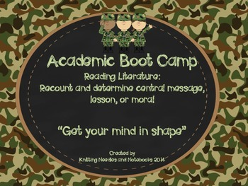 Academic Boot Camp: Reading Literature: Recount Stories an