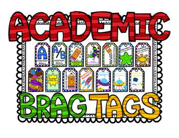Academic Brag Tags - Expansion Pack!
