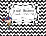 Academic Calendar 2012-2013 Spanish