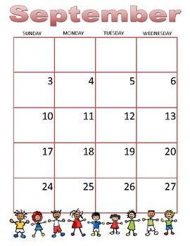 Academic Calendar/Planner 2017-18