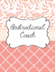 Academic Coach Binder with Peach and Cream theme