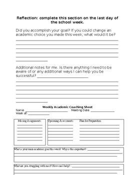 Academic Coaching Resources