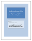 Academic Composition - Exercises & Examples for the Early