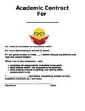 Behavior - Academic Contract