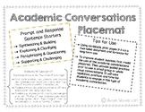 Academic Conversation Placemat