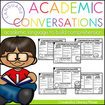 Academic Conversation Placemats