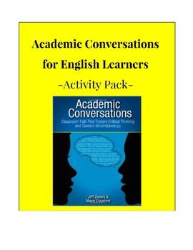Academic Conversations Activity Pack