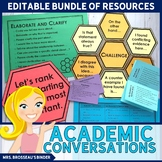 Academic Conversations for Accountable Talk, Socratic Circ