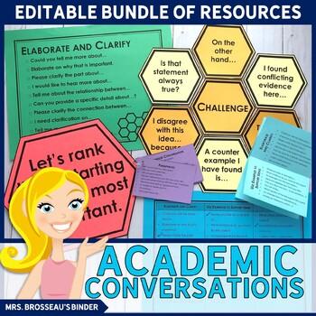 Academic Conversations for Accountable Talk - Bundle