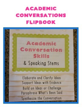 Academic Conversations Flipbook